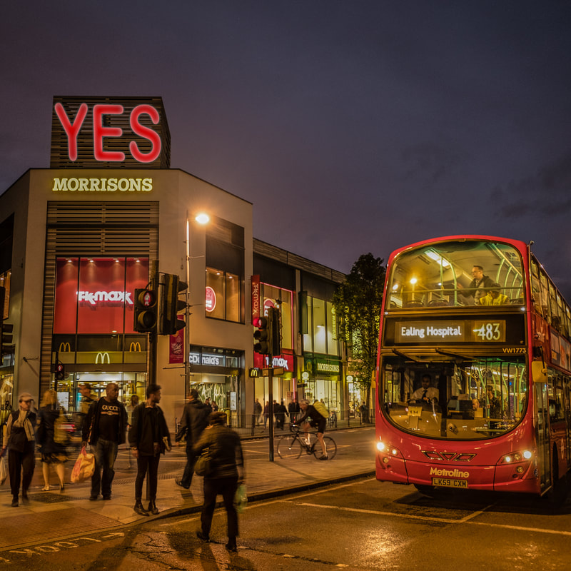 Ealing Broadway support for YES vote.